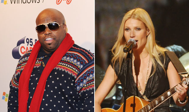 Cee-Lo and Paltrow: Grammy Performance