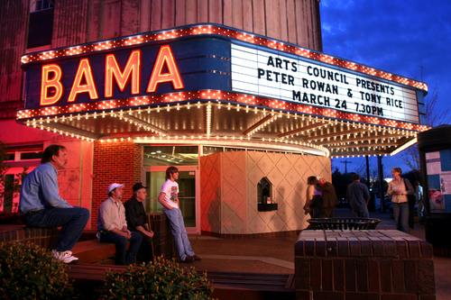 Poetry Slam at the Bama Theatre