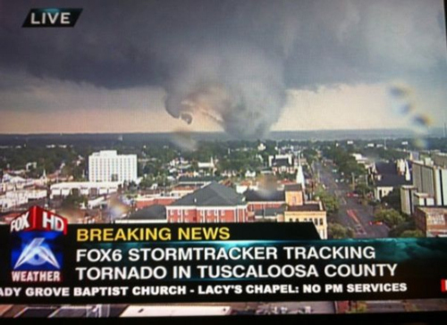 Tornadoes Sweep the South, Leaving 306 Dead