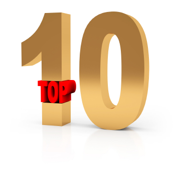 Top Ten of the Week