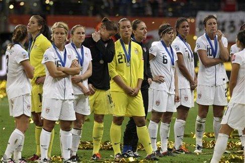 U.S. women's soccer team looks to the future