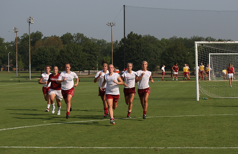 Soccer Heads into Second Week of Camp
