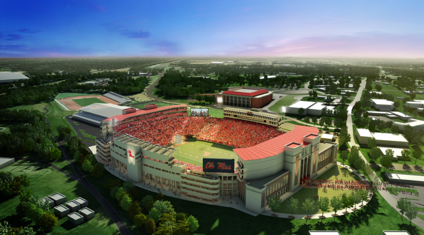 Ole Miss Announces Plans for New Arena & Stadium Expansion