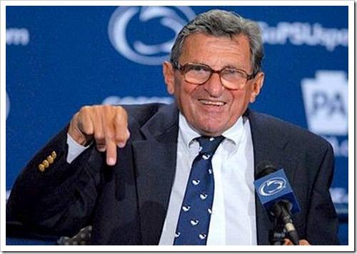 Paterno in hospital after player runs into him