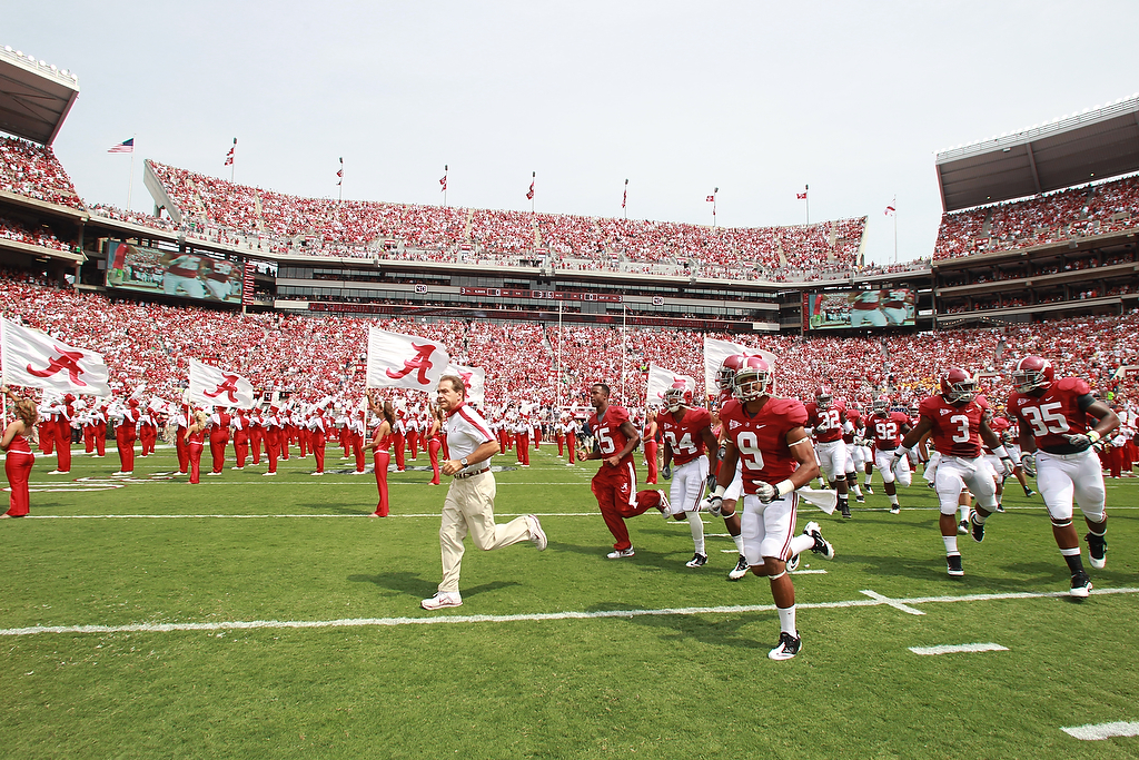 Tune Into Crimson Tide GameDay and the Crimson Tide Postgame Show Saturday Starting at Noon