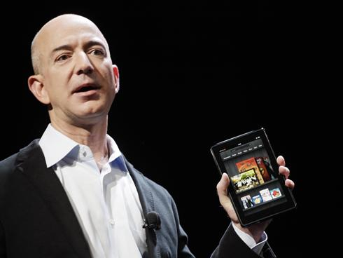 Amazon Takes on Apple iPad With Kindle Fire Tablet