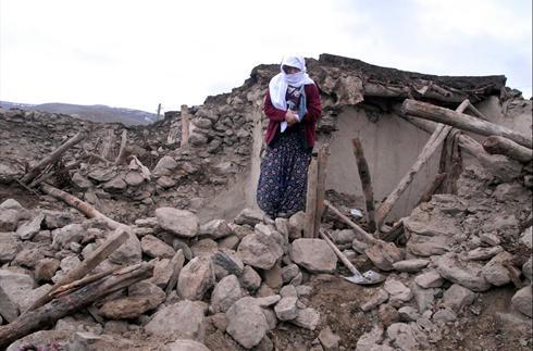 Powerful earthquake hits eastern Turkey