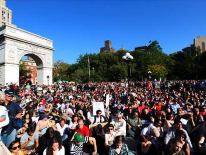 """Occupy Wall Street"" now in 25 cities"