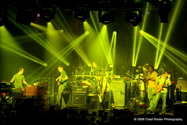 Umphrey's McGee Death by Stereo at BAMA Theatre!!