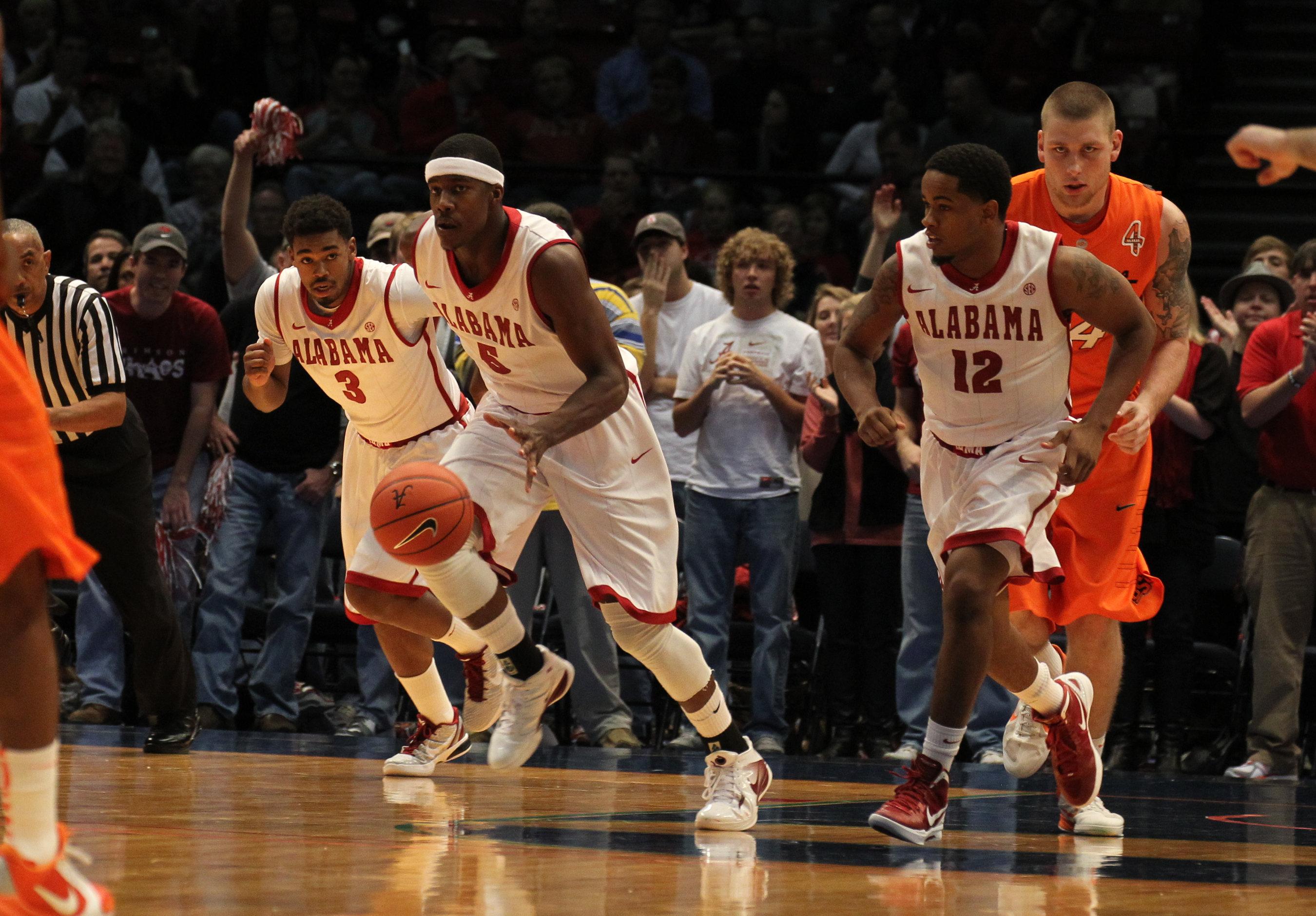 Bama Hoops Dominate Oklahoma State