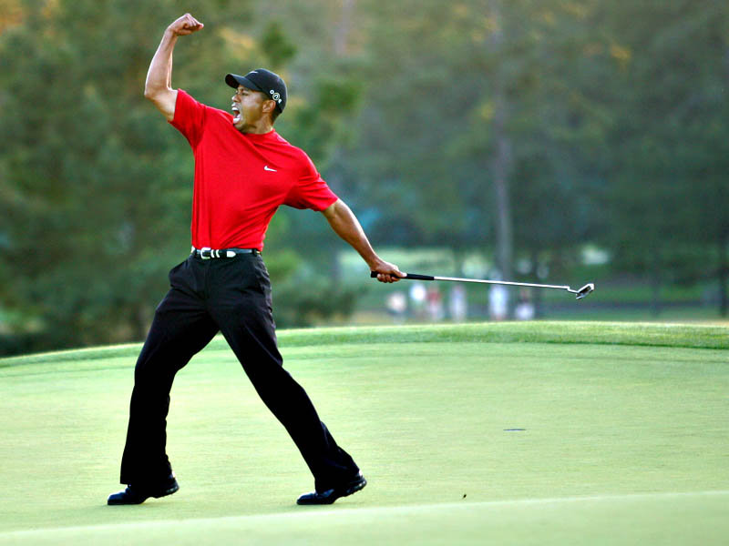 Tiger Woods ends two-year victory drought