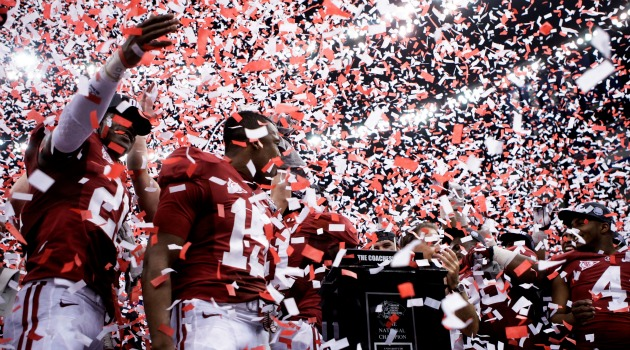 Football National Title Celebration to Be Held Saturday, January 21, at Bryant-Denny Stadium
