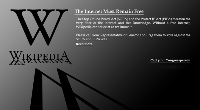 How Many Users Will Wikipedia's Blackout Affect?