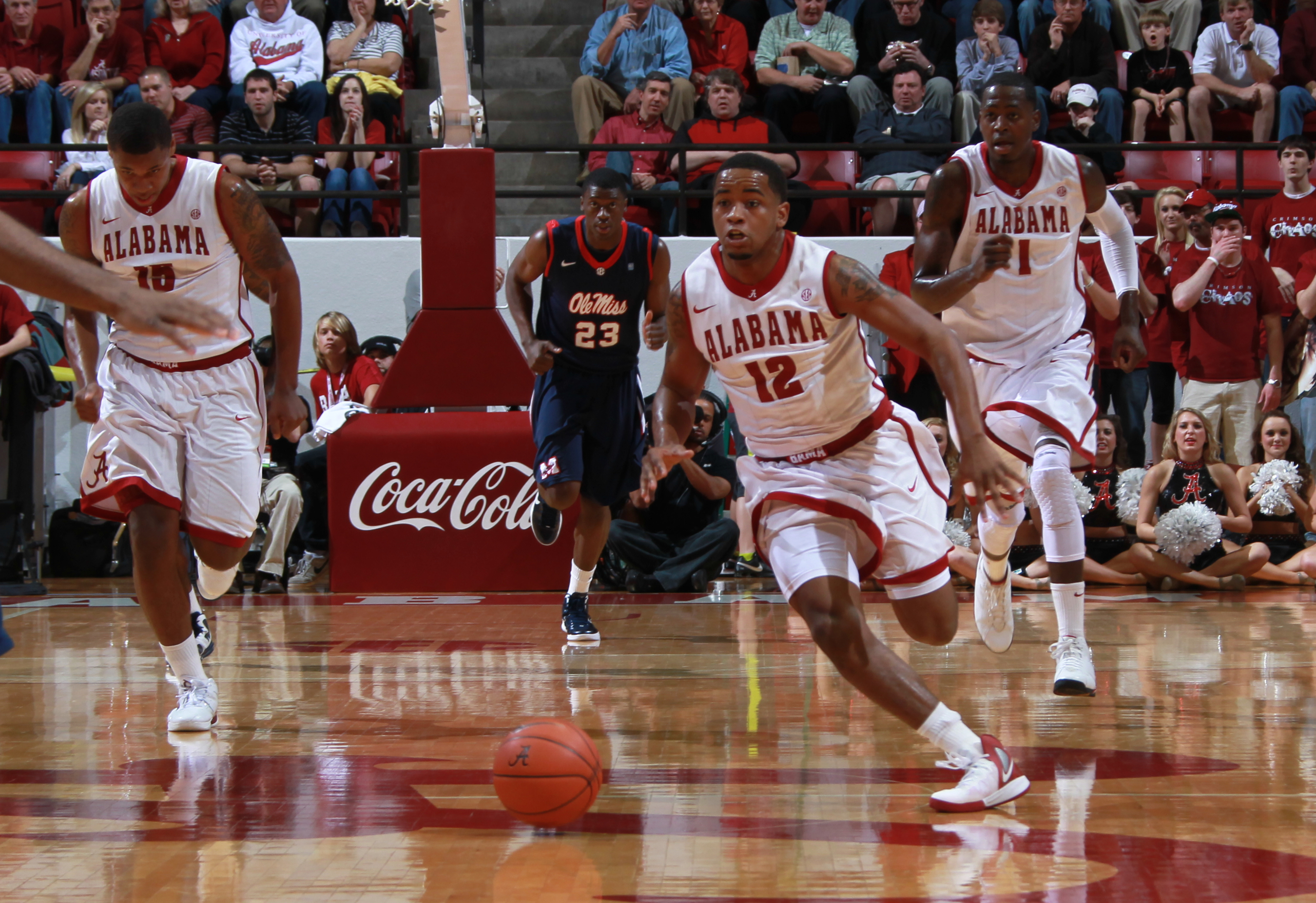 Bama Basketball Takes Down Ole Miss in Double Overtime
