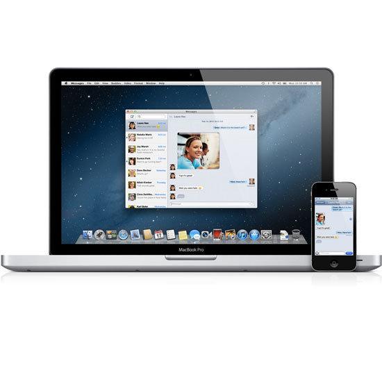 Apple unveils new Mac OS X Mountain Lion