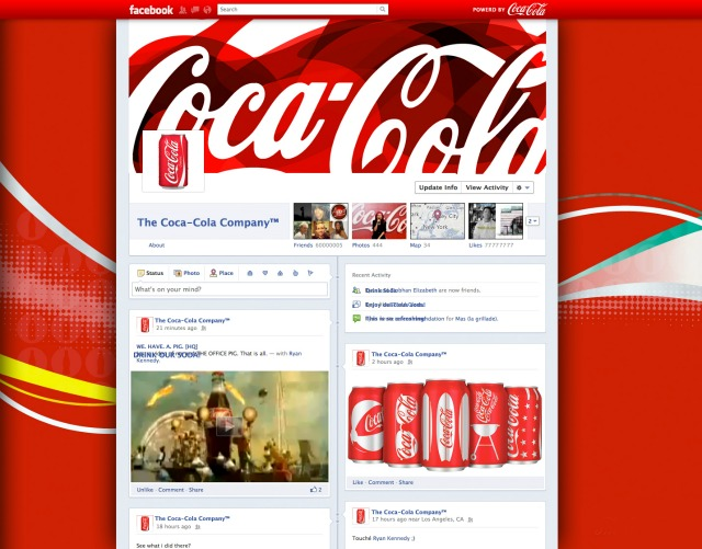 Facebook Timeline Brand Pages Are Here