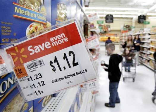 Wal-Mart Plans To Reduce Grocery Prices By $1 Billion
