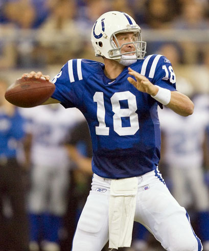 Where will Peyton Manning play in 2012?