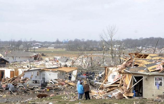 Tornadoes reported in Alabama as storms roar in South