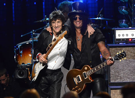 Rock and Roll Hall of Fame class of 2012 inducted