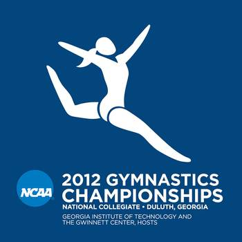 Gymnastics at the NCAA Championships in Duluth, Ga.