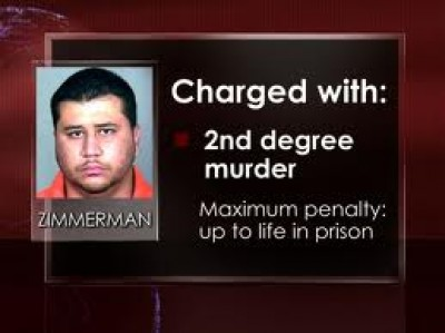 George Zimmerman is charged with 2nd -degree murder in Trayvon Martin shooting