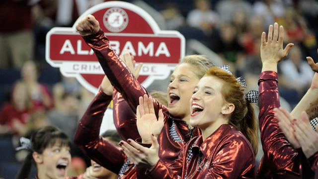 Gymnastics Seeded Fourth Going into the NCAA Championships