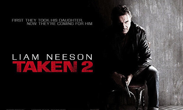 "Thriller ""Taken 2"" grabs movie box office crown"