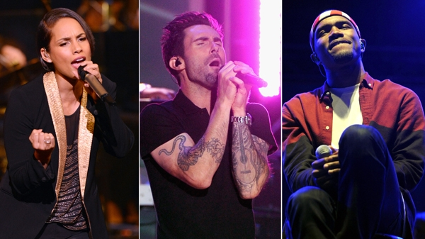 Alicia Keys, Maroon 5, & Frank Ocean Added to Grammy Lineup