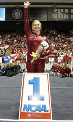 Gymnastics Wins NCAA Tuscaloosa Regional; Advances to NCAA Championships