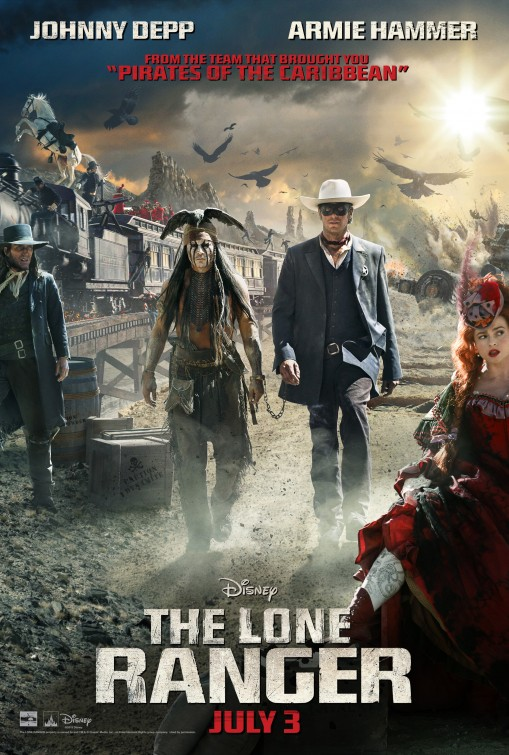 """The Lone Ranger"": The 250 Million Dollar Train Wreck"