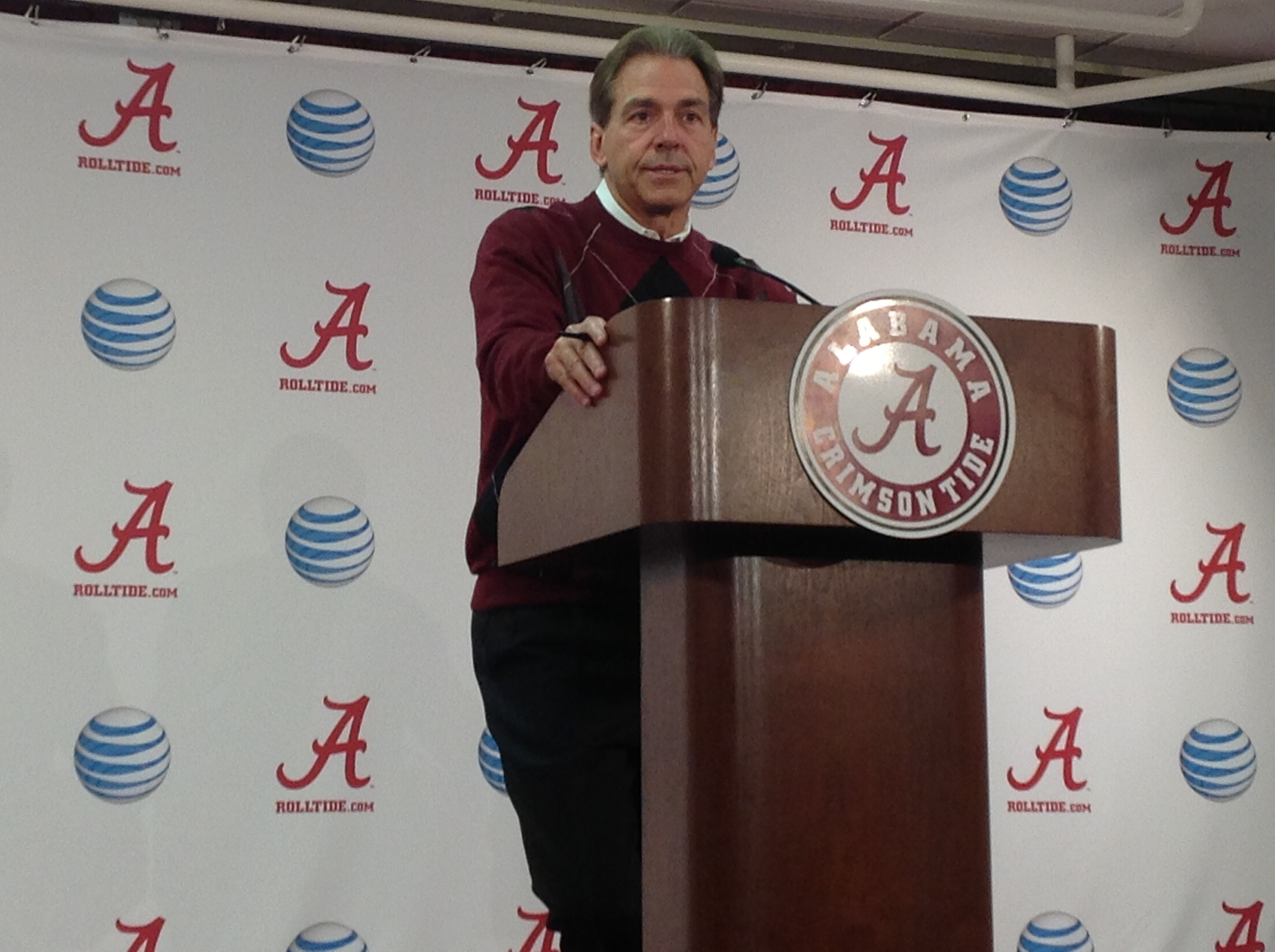 Nick Saban Press Conference Video: Nov. 4, 2013