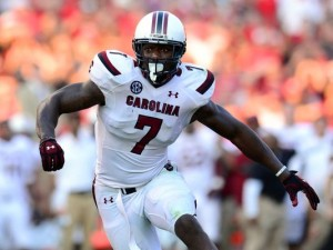 Jadeveon Clowney may not have met the astronomically expectations set for him 2013, but he will still leave as one of the greatest players in school history (Photo Credit/USA Today)