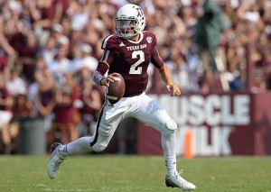 Johnny Manziel established himself as one of the SEC's greatest players in only two seasons (Photo Credit/SI.com)