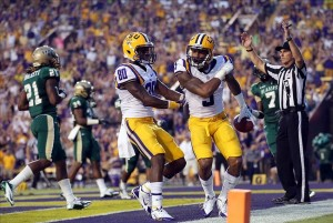 Jarvis Landry and Odell Beckham Jr. combined to make one of the most fear receiving duos in college football in 2013 (Photo Credit/Fanside.com
