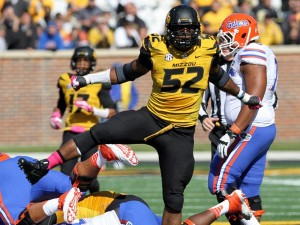 Michael Sam was a force to be reckoned with during the 2013 season (Photo Credit/KY3.com)