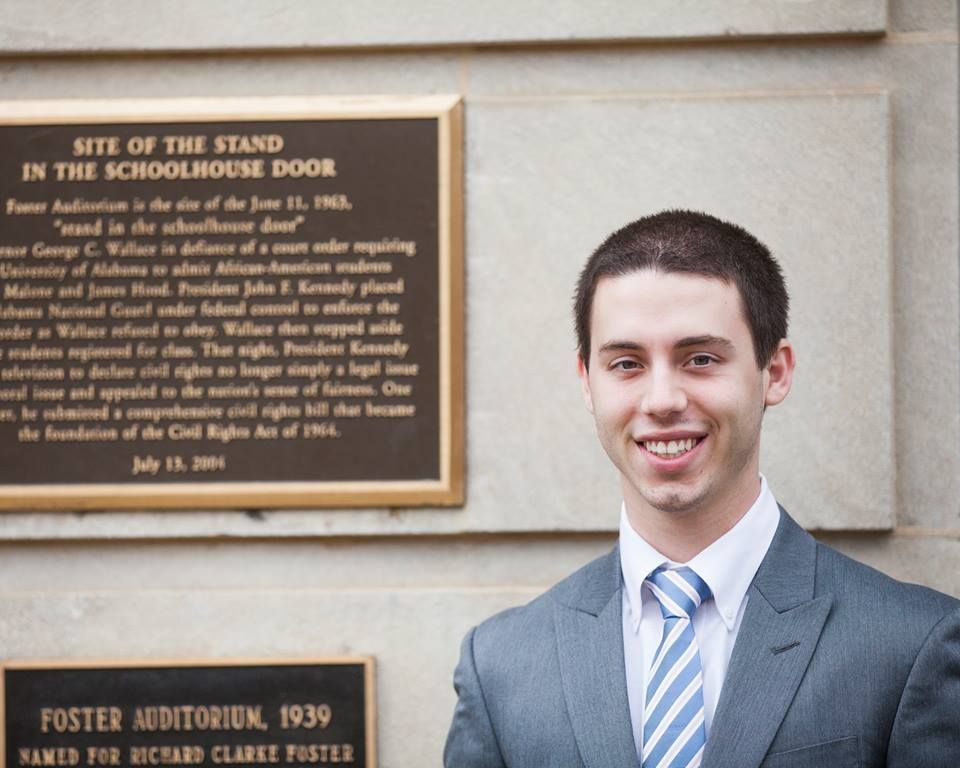 SGA Presidential Candidate Justin Thompson Kicks Off Campaign