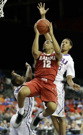 LSU's hot shooting too much for Tide