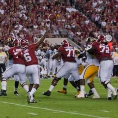 Alabama Recap: Tide keeps Eagles in Nest After Blowout Win
