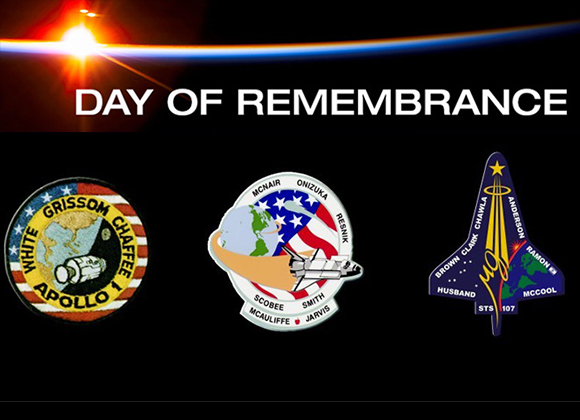 NASA Day of Remembrance coverage on Houndstooth & Hardhats