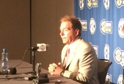 SEC Media Days 2015: Alabama Recap