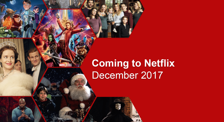 New On Netflix: December 2017