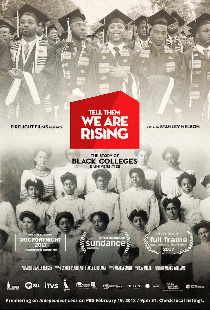 'Tell Them We Are Rising: The Story of Black College and Universities' movie poster