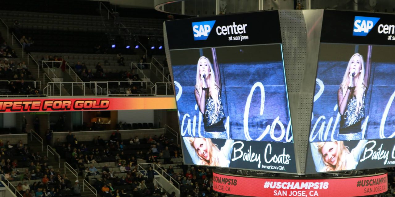 UA's Bailey Coats Performs an original song at U.S. Figure Skating Championship