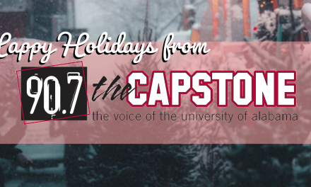 Happy Holidays from WVUA FM!